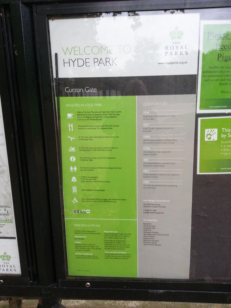 En Hyde Park se desarrollan gran cantidad de actividades culturales
