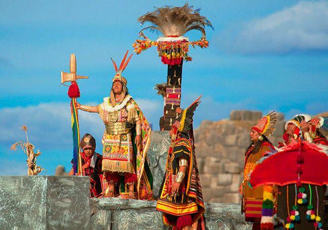 En junio se celebra en Perú el Inti Raymi