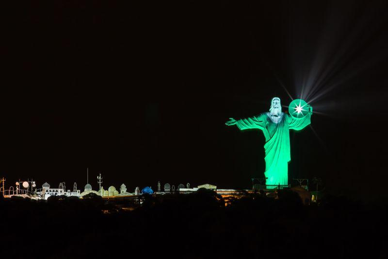 El Cristo Luz es una de las atracciones desde donde se obtiene una panorámica de la ciudad.