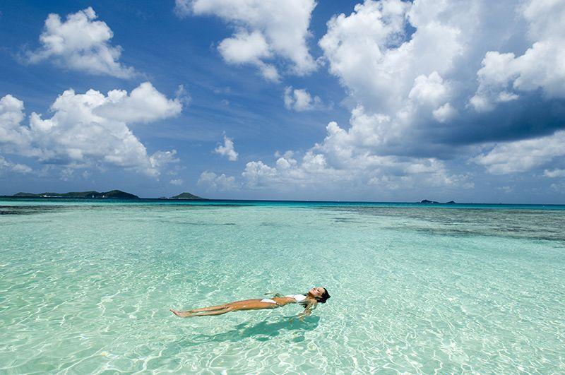 Las maravillosas playas de las islas son un atractivo único para visitar