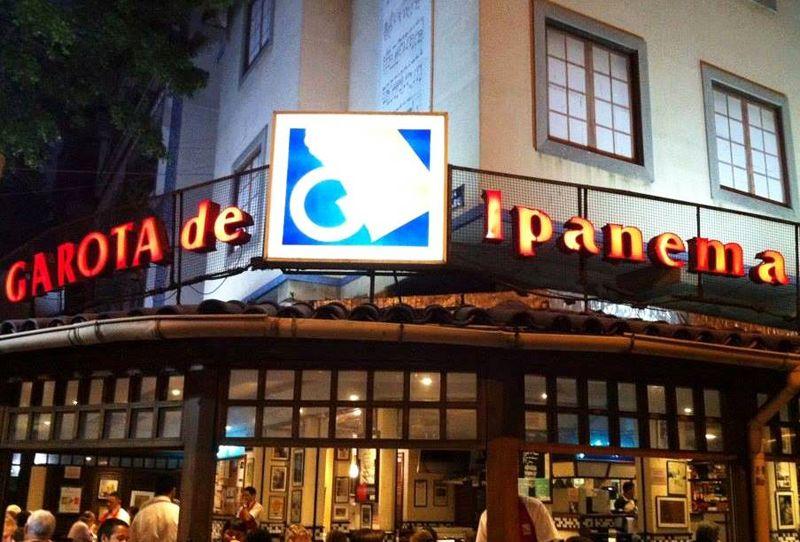 El bar Garota de Ipanema es un clásico que se emplaza en la misma esquina donde nació la emblemática canción.