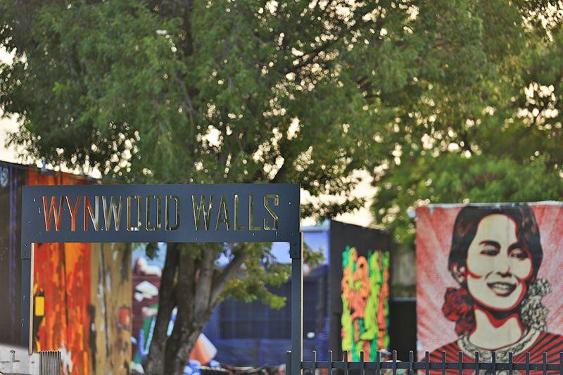 Caminar por Wynwood es una experiencia aparte: allí salen a la luz