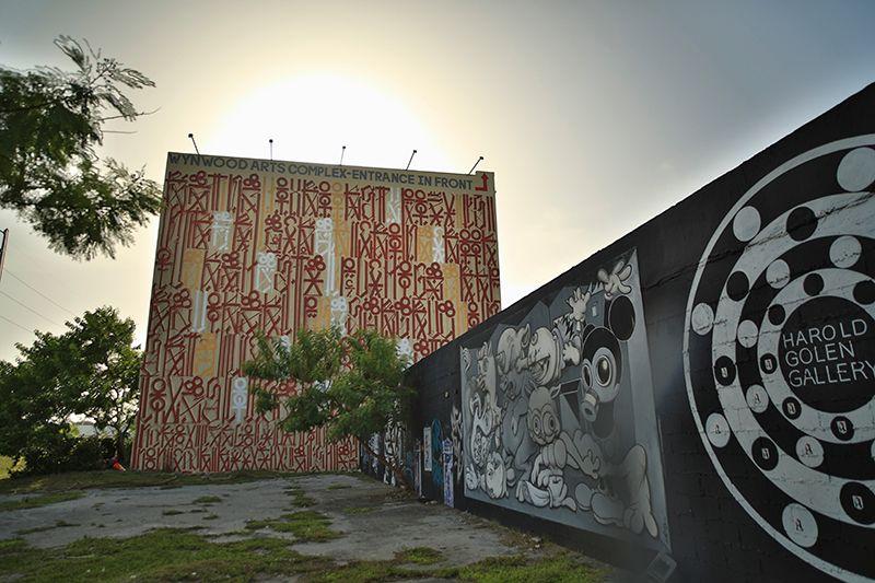 Wynwood Walls es una galería donde se exponen obras de personalidades consagradas del arte callejero.
