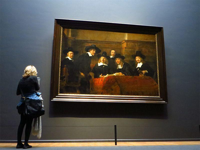 El principal atractivo del Rijksmuseum son las obras de Rembrandt.