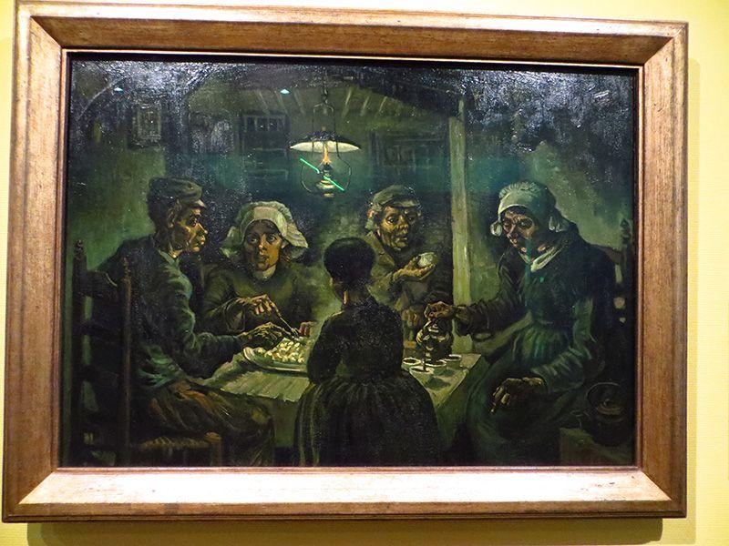 Beaufiful Comedores De Patatas Van Gogh Pictures # Las Obras De Van ...