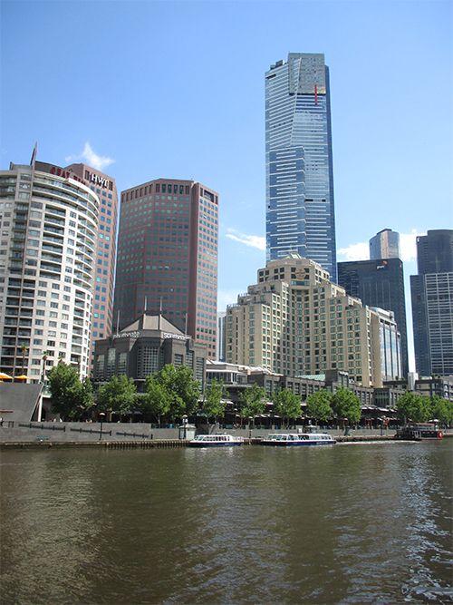 La hermosa ciudad de Melbourne