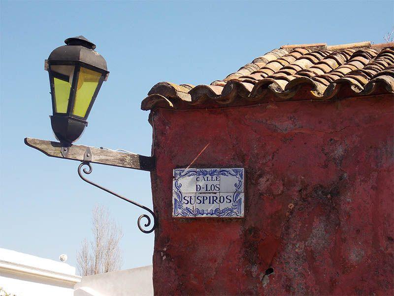 La calle de los suspiros es un bello rincón en el casco histórico.