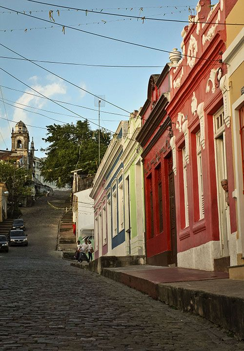 Una postal de la atractiva y pintoresca calle de La Misericordia.