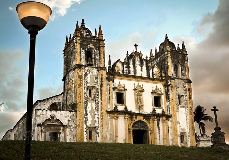 La iglesia Do Carmo es la más antigua dde la Orden de las Carmelitas.