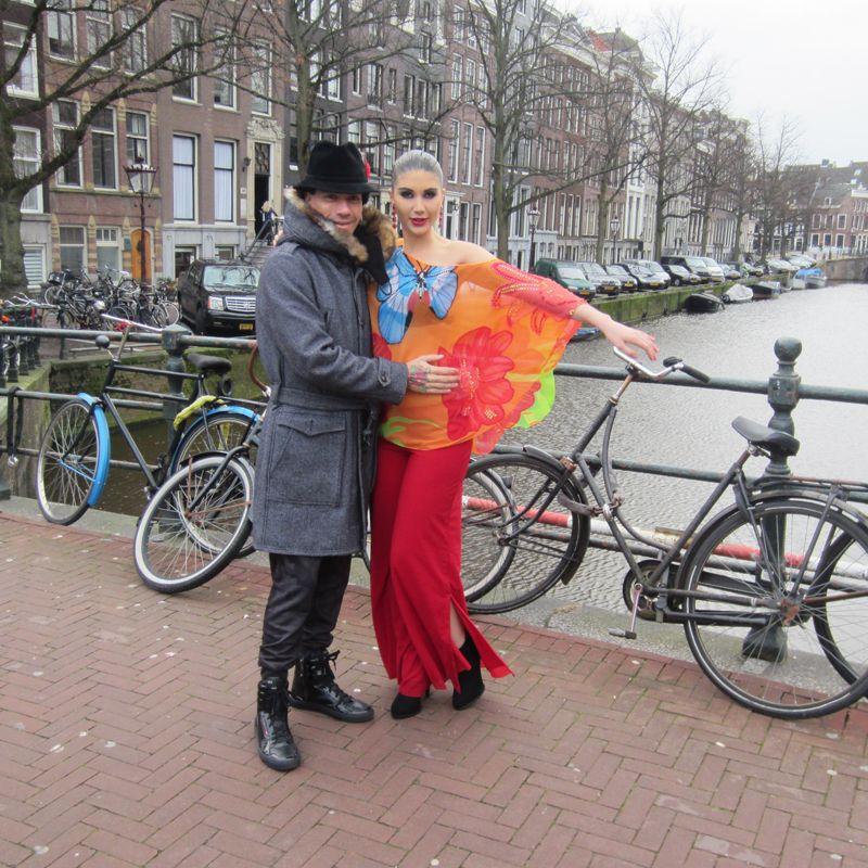 La temporada pasada el diseñador participó del Fashion & Art en Ámsterdam.