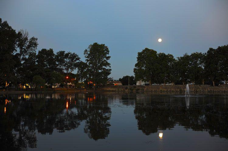 Noche ideal para comenzar la travesía rumbo al observatorio.