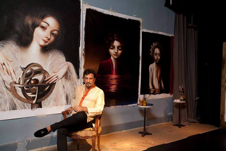 La pintura es sólo una de las virtudes del ganador del Oscar.