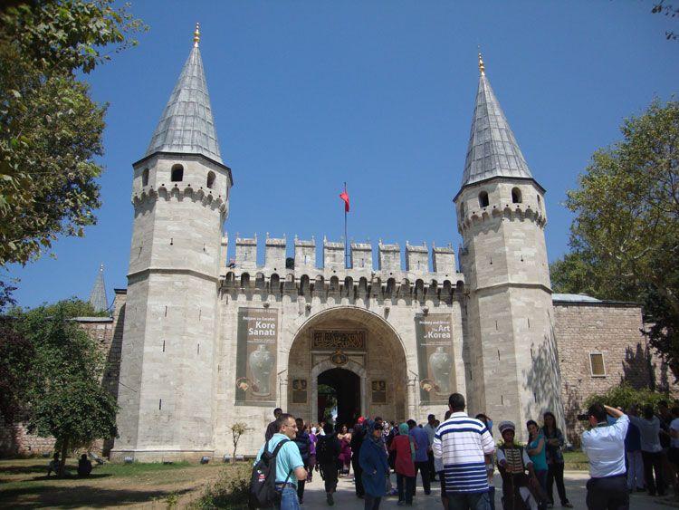 El Palacio Topkapi fue la sede administrativa del Imperio Otomano.