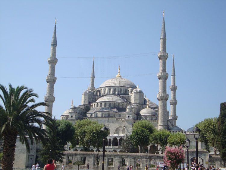 La mezquita del sultán Ahmet