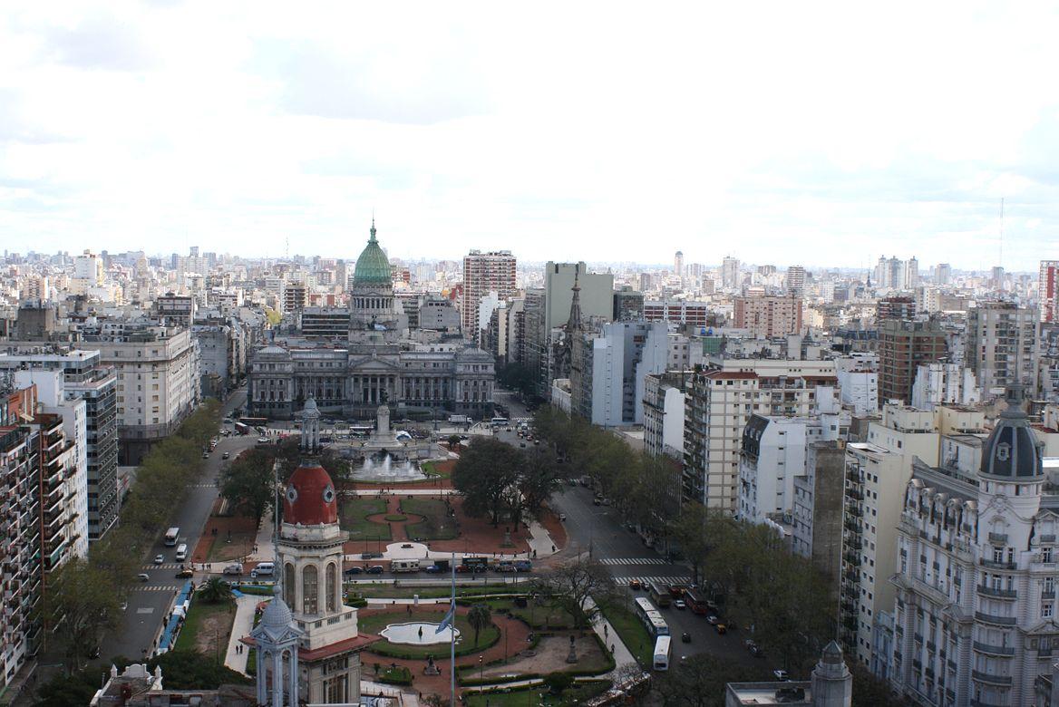 La vista desde el Palacio Barolo