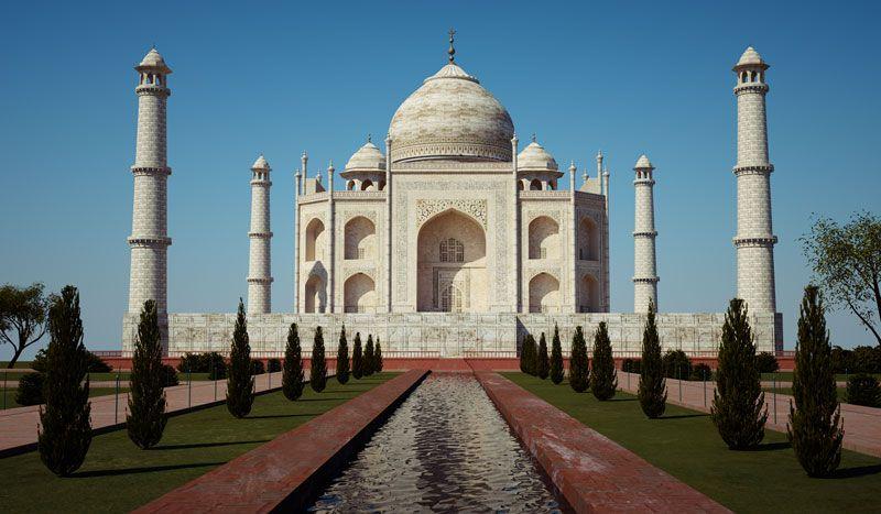 3-El Taj Mahal
