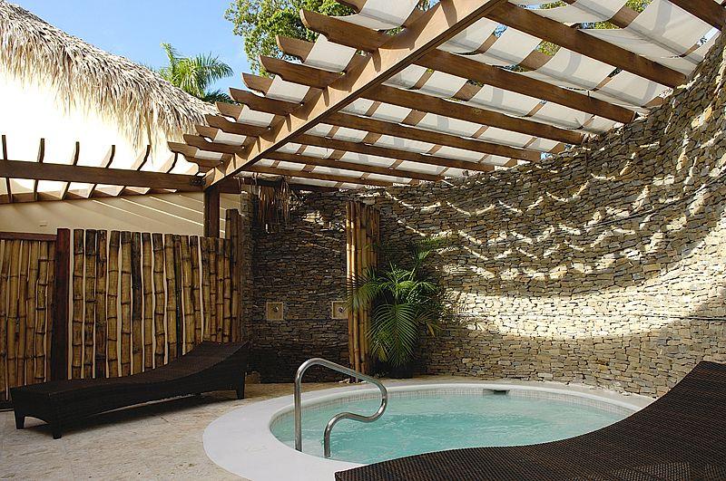 El spa del Be Live Grand Marien en Puerto Plata (Dominicana) .