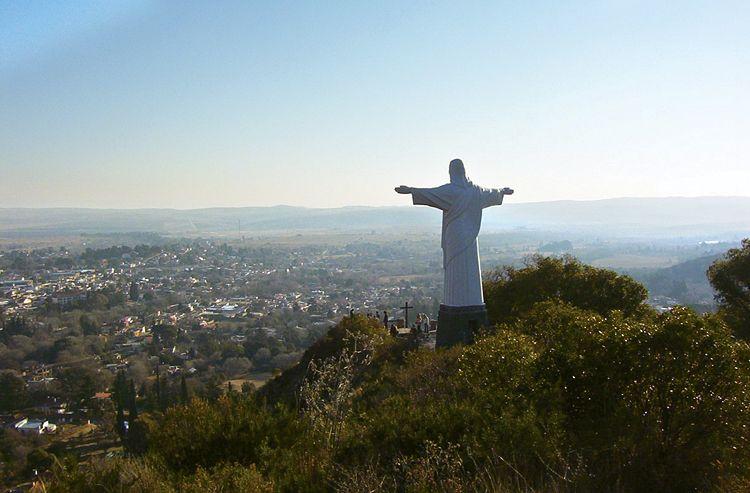 La Cumbre. Cristo Redentor