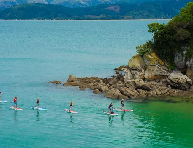 Cinco lugares para practicar stand up paddle
