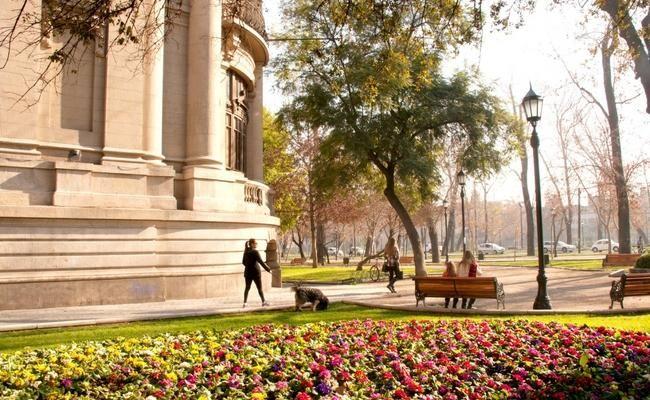 Cinco barrios patrimoniales de Santiago