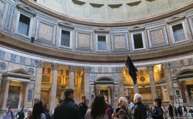 Primera vez en Roma