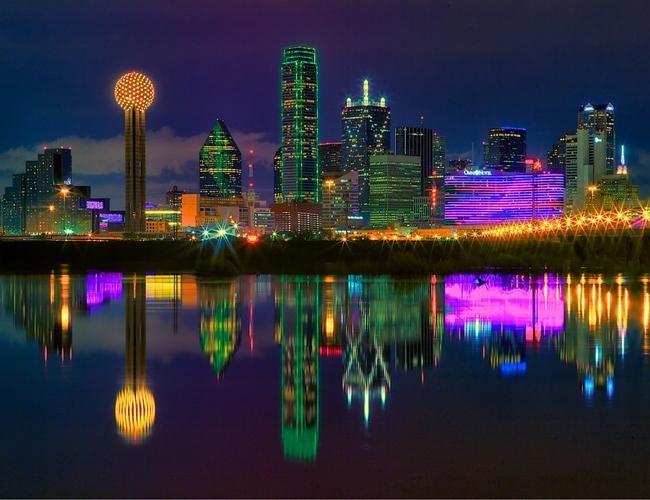 El lado vibrante y seductor de Texas