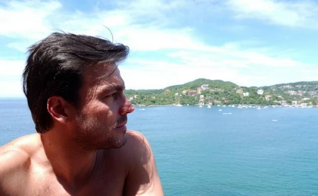 Luciano DAlessandro se enamoró de Ixtapa - Zihuatanejo
