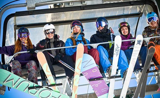 Catedral y Laderas: dos opciones bien distintas para esquiar