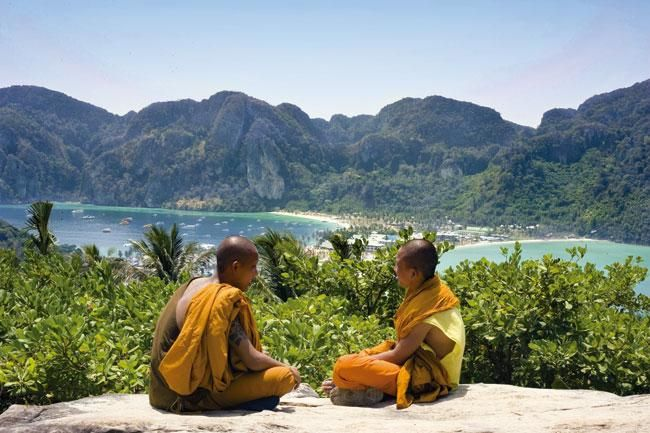 Belleza natural en el sudeste asiático
