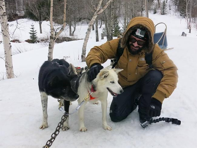 Testigo de la aurora boreal