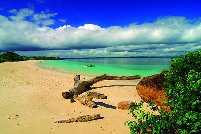 La costa del Pacífico de Panamá