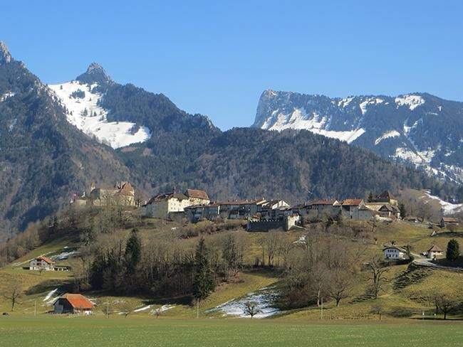 Gruyères, la aldea exquisita