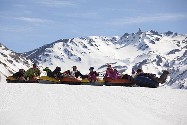 Mendoza: entretenimiento en la nieve