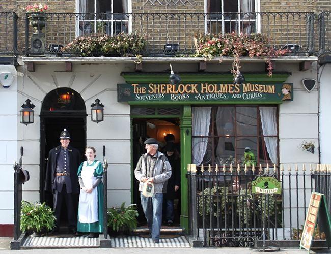 Una visita a la casa del querido sherlock holmes europa - Casa de sherlock holmes ...