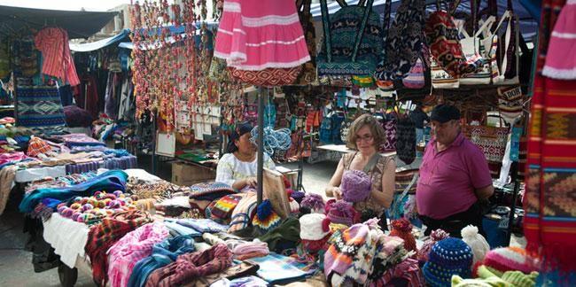 Un laberinto de colores llamado Otavalo