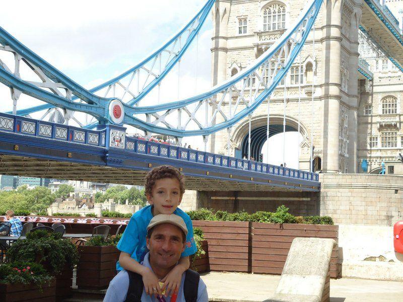 Como profesional visitó muchos destinos. Ahora también viaja en familia.