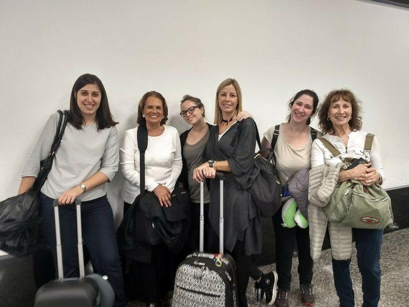 El grupo que viajó a Inglaterra.