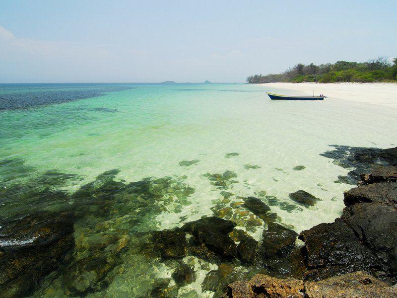 Recorrimos las playas y nos encontramos con parajes como este.