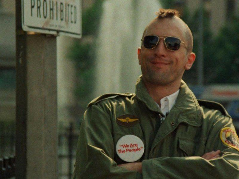 El legendario film Taxi driver tuvo a Robert De Niro como actor protaonista.