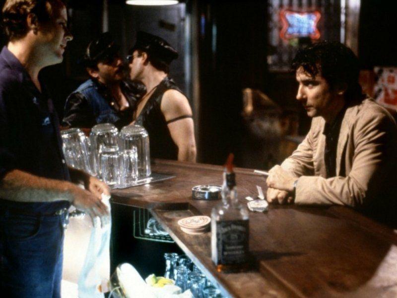 Escena de Después de hora filmada en el Soho.