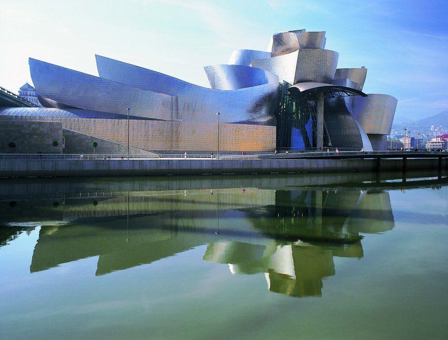 El Museo Guggenheim concebido por el genial Frank Gehry.
