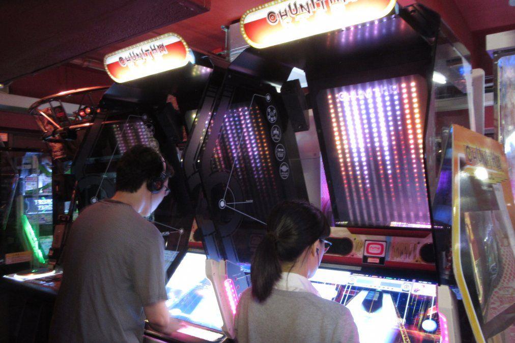 El mundo de los juegos en Tokio es para todas las edades.