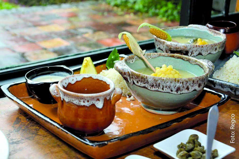 El ajiaco santafereño es una de las sopas más representativas de Bogotá y del país. (Foto: Red de Eventos Gastronómicos de Colombia