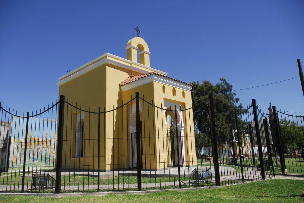 Otro sitio para detenerse es la Ermita