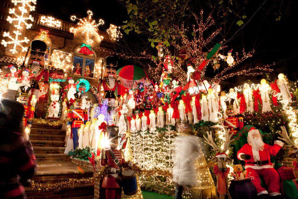 Nueva York se pone radiante en época de Navidad (Marley White).