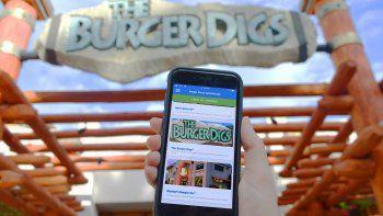 Universal Orlando Resort estrenó app para pedir comida en el parque