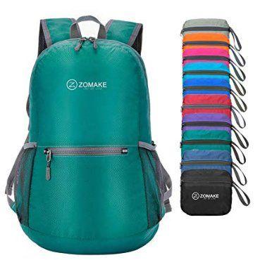 La mochila que se puede doblar y guardar en cualquier rincón