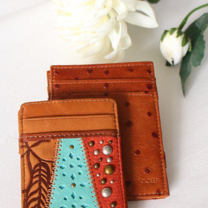Las billeteras de auténtico cuero argentino