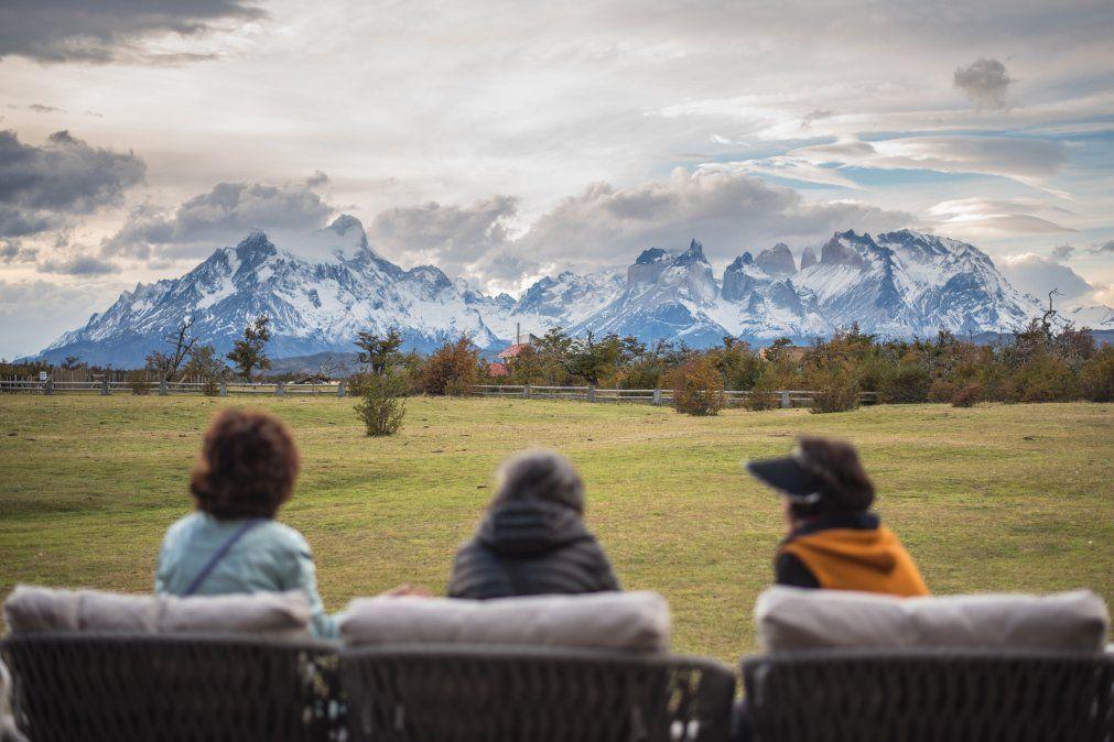 Contemplando el paisaje de esta parte del sur chileno. (Foto: Hotel Río Serrano)