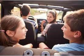 ¿Cómo entretener a los chicos en los viajes en auto? Así...
